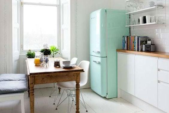 Pastelkleuren keuken
