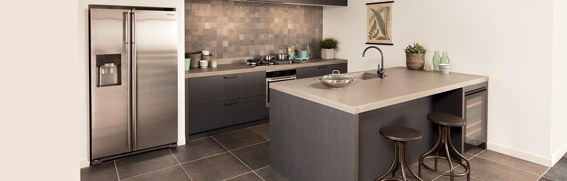 Betonlook keuken - Nieuwenhuis