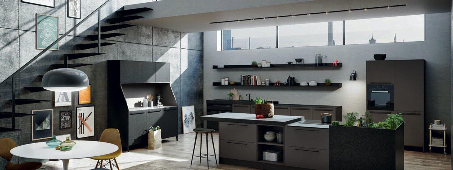 Industriële keuken Nieuwenhuis Keukens