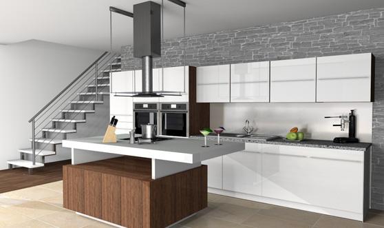 3D keuken afbeelding