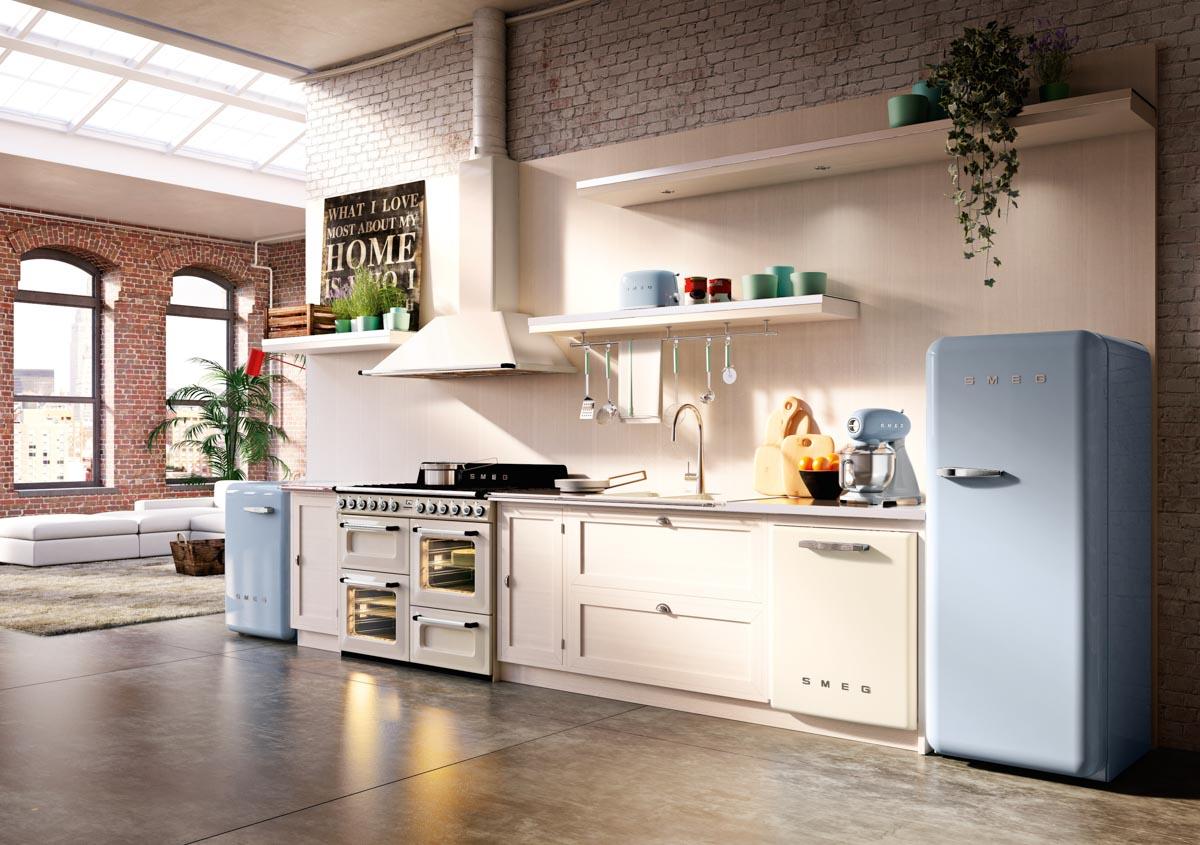 SMEG koelkast keuken