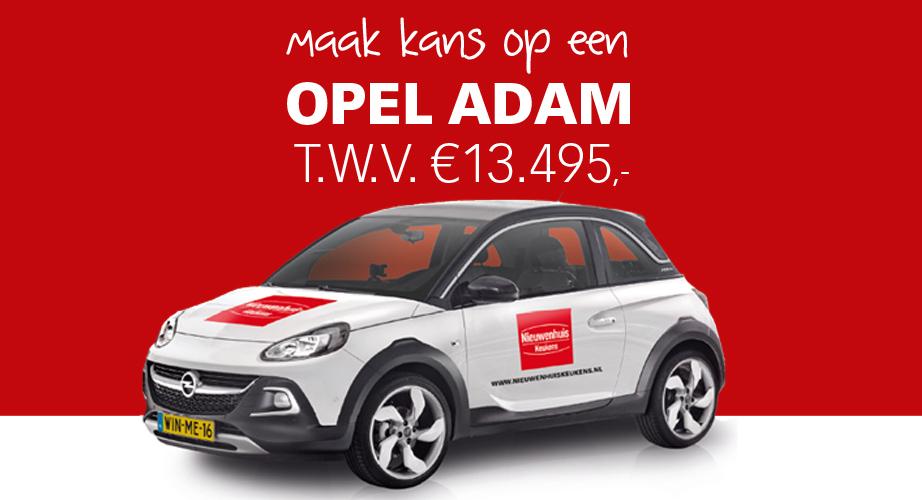Opel Adam Nieuwenhuis Keukens