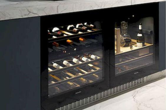 Wijnkoelkast De Keuken : Het gemak van een wijnklimaatkast nieuwenhuis keukens